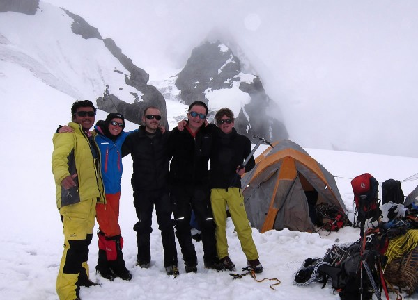 2013, Mt. Ramdung summit (almost) team, Nepal