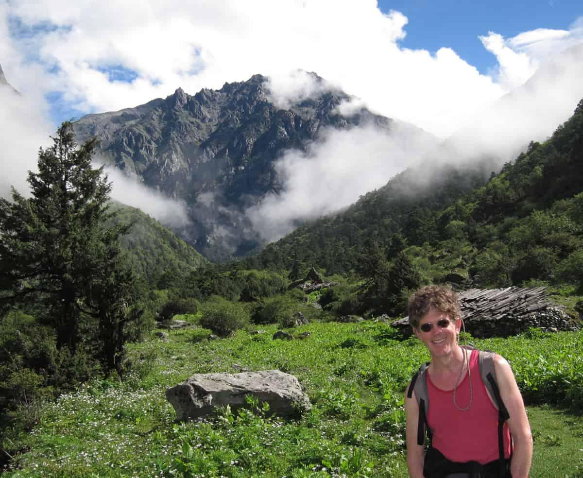 2013, at Lapchi, Nepal / Tibet