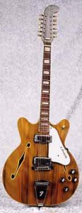 1967 Fender Coronado XII Wildwood 12-String Electric Guitar
