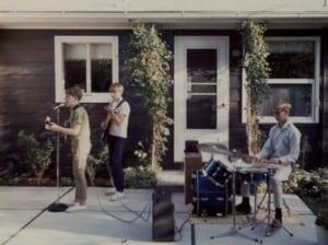1967, Doug's patio