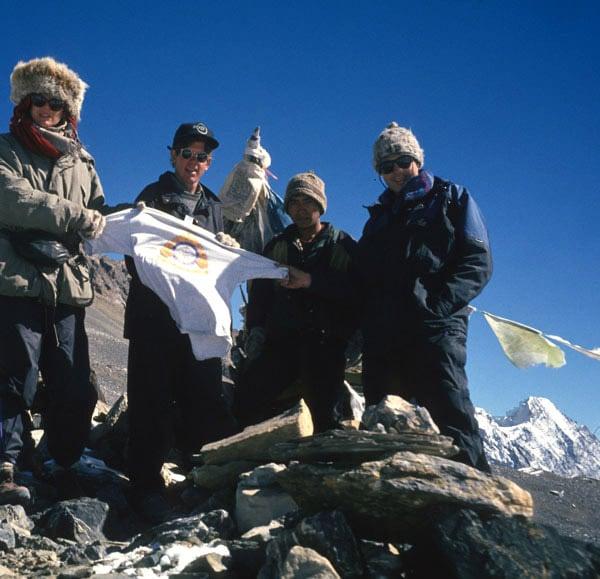 1994 Thoreng La pass, Nepal 17,800 ft Erika, Kalu, Steve, Clarke