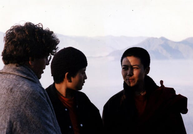 1996 Steve, Deki, and Choying at Nagi