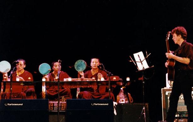 Steve Tibbetts and Choying Drolma in Madison, 1998