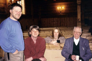 Olav Vinndal, Knut Hamre, Turid Spildo and Håvard Kvanndal
