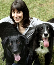 Suzi and her Dogs