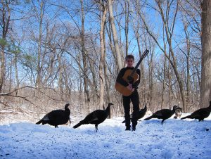 Steve Tibbetts, guitar, turkeys