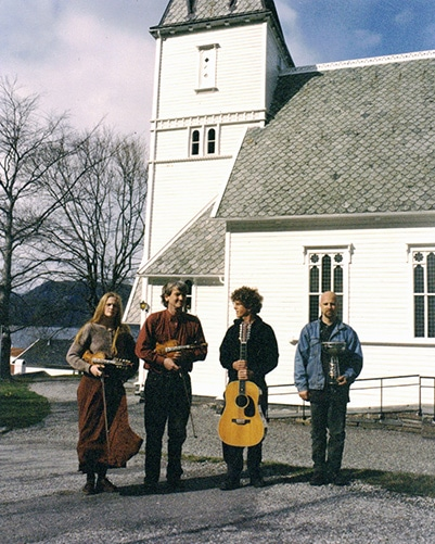 Turid, Knut, Steve, Marc near Utne, Norway