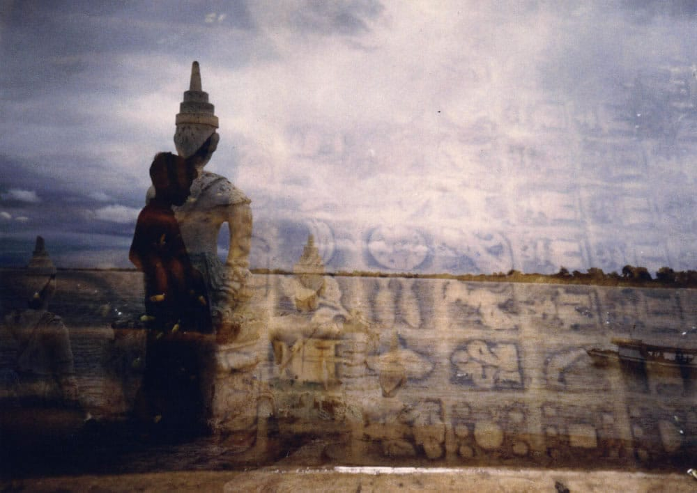 1995 Burma boats & sea