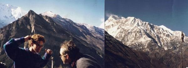 1994 Annapurnas from Gyaru, with Clarke Warren