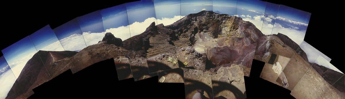 1989 Gunung Agung caldera, Bali