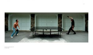 Eicher and Jarrett play ping-pong