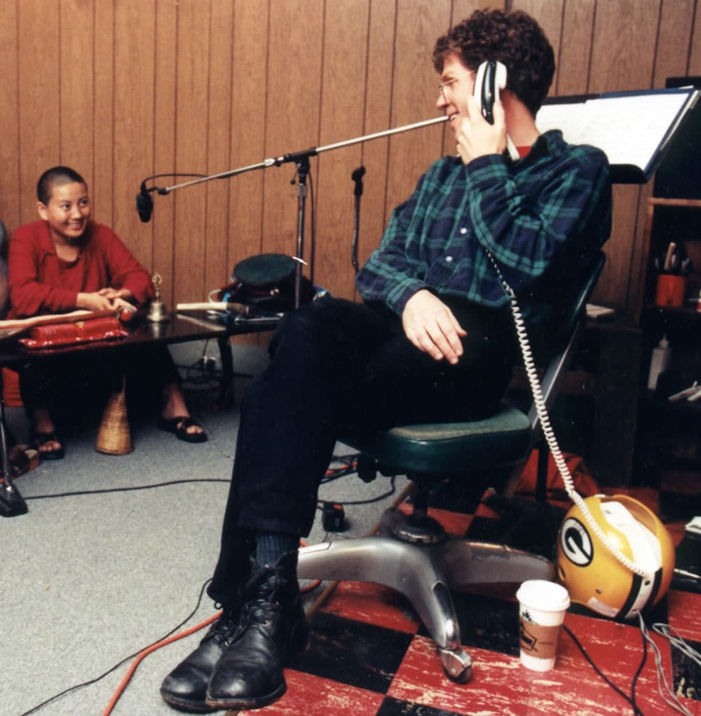 1997 pre-tour studio, Steve Tibbetts & Choying