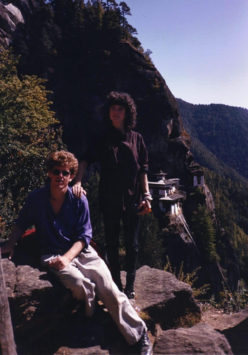 1992 Taksang, Bhutan - Steve Tibbetts w/ Tara