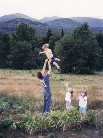 Steve Tibbetts & triplets