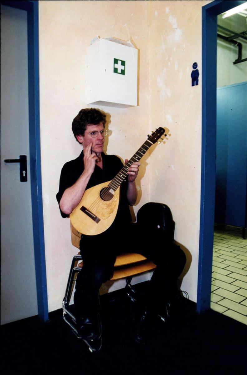 Steve Tibbetts Backstage Leipzig, 2000