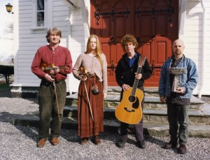 1997, with Knut, Turid and Marc near Granvin, Norway